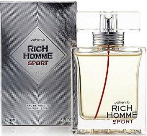 Rich Homme Sport Eau de Toilette - Perfume Masculino