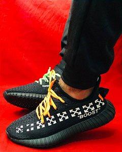 Tênis Adidas Yeezy Boost 350 v2 Preto