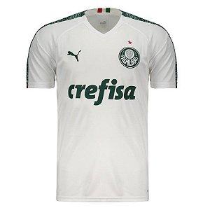 Camisa Palmeiras II 19/20 s/n° - Torcedor Puma Masculina - Branco (Frete Grátis)