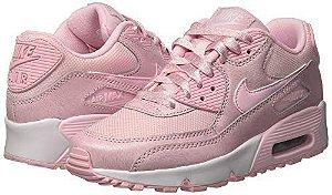 e4cae675a3 Tênis Nike Air Max 90 Feminino Essential Vinho Branco Frete Grátis ...