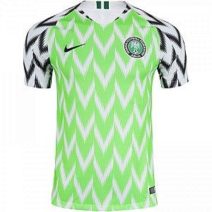 Camisa Nigéria 18/19 Nike - Masculina Frete Grátis