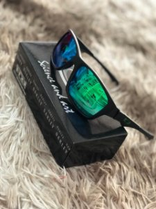 Óculos Oakley Jupiter Lente Verde Frete Grátis