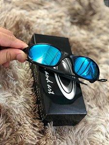 Óculos Oakley Juliet Lente Ice Thug Armação Preta Frete Grátis