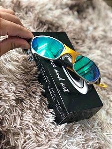 Óculos Oakley Juliet 24k Lente Verde Frete Grátis