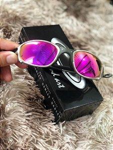 Óculos Oakley Doublex X Tio 2 Lente Rosa Frete Grátis