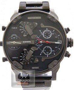 Relógio Importado Diesel Dz 7314 Black red Frete Grátis