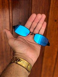 Óculos Oakley Personalizado Mc Menor Mr Lente Azul Escuro Frete Grátis