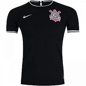 Camisa do Corinthians Preta Gaviões 19/20 - Masculina (Frete Grátis)