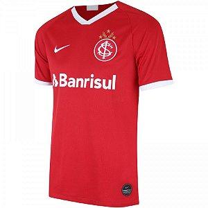 Camiseta Internacional Vermelha 19/20 - Masculina (Frete Grátis)
