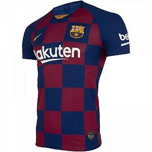 Camiseta Barcelona Principal 19/20 - Masculina (Frete Grátis)