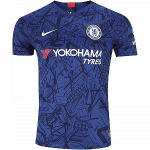 Camisa Chelsea Azul 19/20 Nike - Masculina (Frete Grátis)