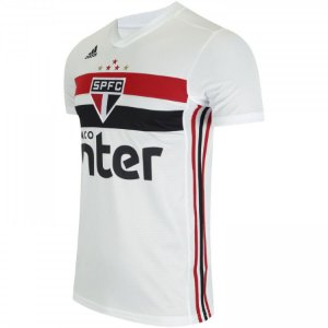 Camiseta Sao Paulo Branca 19/20 - Masculina (Frete Grátis)