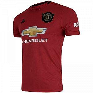 Camisa Manchester United Vermelha 19/20 - Masculina (Frete Grátis)