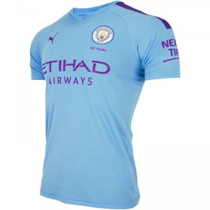 Camisa Manchester City Azul bebe 19/20 - Masculina (Frete Grátis)