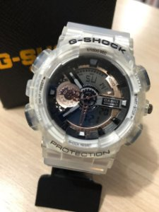 Relógio G-Shock Pulseira Transparente Frete Gratis