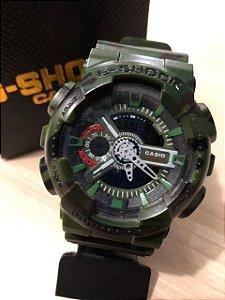Relógio G-Shock Camuflado Verde Frete Gratis