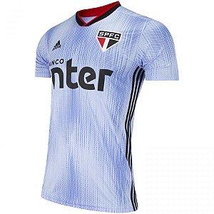 Camisa Sao Paulo Azul III 2019 Adidas - Masculina Frete Grátis