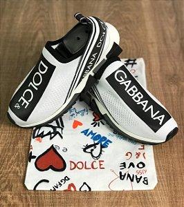 Tenis Dolce Gabbana Sorrento Branco Frete Grátis