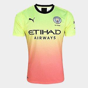 Camisa Manchester City Colorida 19/20 Nike - Masculina Frete Grátis