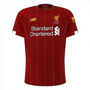 Camisa Liverpool Vermelha 19/20 - Masculina Frete Grátis