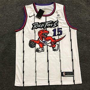 Camiseta Basqueta Raptors Branca 15 19/20 Nike - Masculina Frete Grátis