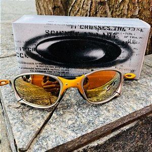 Oakley 24k Double X Lente Dourada Frete Gratis