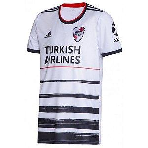 Camiseta River Plate Branca 19/20 adidas - Masculina Frete Grátis