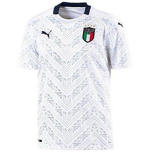 Camiseta Itália Branca 19/20 Puma - Masculina Frete Grátis