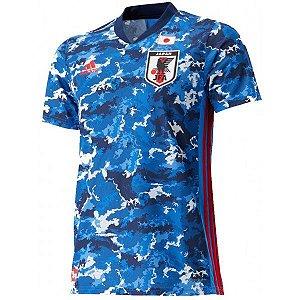 Camiseta Japão Azul 19/20 adidas - Masculina Frete Grátis