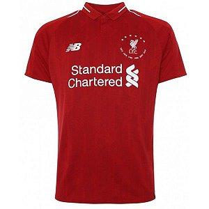 Camiseta Liverpool Vermelha Edição 120 Especial 19/20 - Masculina Frete Grátis