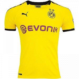 Camiseta Borussia Dortmund Home 19/20 - Masculina (Frete Grátis)