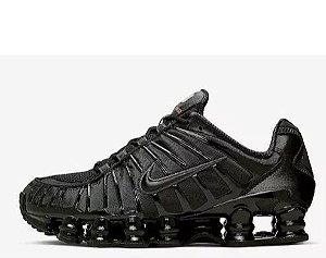 Tênis Nike Shox 12 Molas Preto Frete Grátis