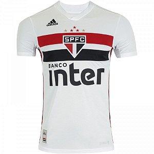 Camisa do São Paulo Branca Adidas 19/20  - Masculina (Frete Grátis)