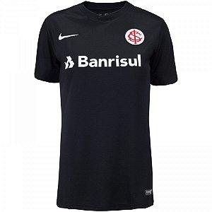 Camiseta Internacional Preta 19/20 - Masculina (Frete Grátis)