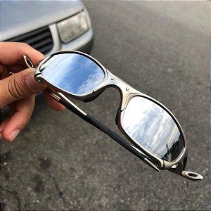 Óculos Oakley Juliet Lente Prata Armação Plasma Frete Grátis