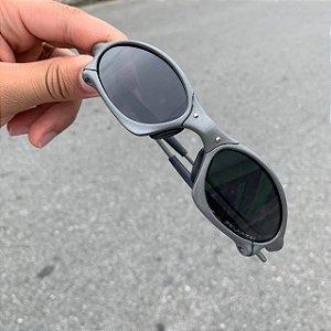 Óculos Oakley Penny Lente Preta Brilho Reto Armação X-metal Frete Grátis