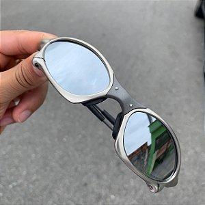 Óculos Oakley Penny Lente Prata Brilho Reto Armação Tio 2 Frete Grátis