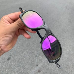 Óculos Oakley Double-X Lente Roxa Brilho Reto Armação X-Metal Frete Grátis