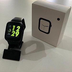 Relógio Smartwatch W4 Esportivo Preto Frete Grátis