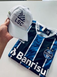 Kit Grêmio Listrada + Boné Lacoste Com Frete Grátis