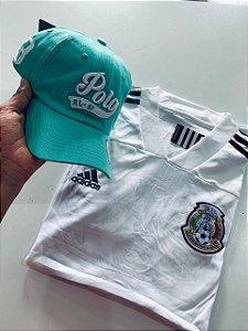 Kit Camiseta México + Bone Polo Frete Grátis