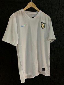 Camiseta Inglaterra Branca 2021 Com Frete Grátis