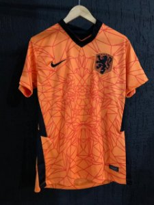 Camiseta Holanda Laranja 2021 Com Frete Grátis