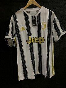 Camiseta Juventus Listrada 2021 Com Frete Grátis