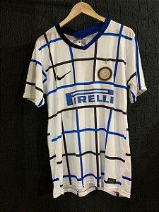 Camiseta Inter Milão Branca 2021 Com Frete Grátis