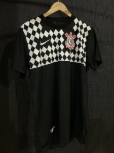 Camiseta Corinthians Preta 2021 Com Frete Grátis