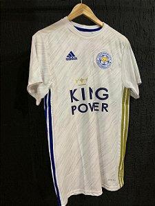 Camiseta Leicester Branca 2021 Com Frete Grátis
