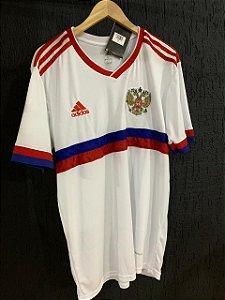 Camiseta Russia Branca 2021 Com Frete Grátis