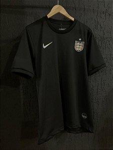 Camiseta Inglatera Preta 2021 Com Frete Grátis