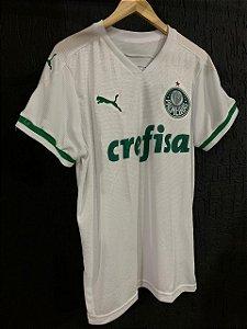 Camiseta Palmeiras Branca 2021 Com Frete Grátis